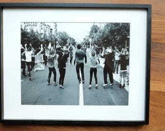 Framed Photograph - San Francisco,Valencia Street