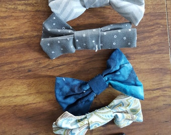 Bowties for interchangeable bowtie onesie