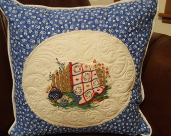 Custom Quilted Pillow