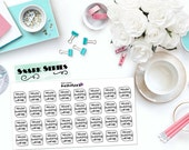 "SNARK SERIES: ""Maybe swearing will help."" Paper Planner Stickers!"