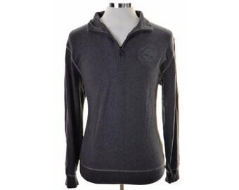 Timberland Mens Jumper Sweater Medium Black Cotton