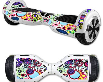 Skin Decal Wrap for Self Balancing Scooter Hoverboard unicycle Circle Explosion