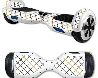 Skin Decal Wrap for Self Balancing Scooter Hoverboard unicycle Mustache