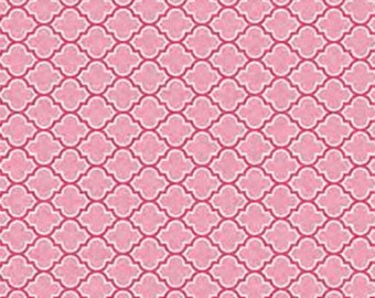 Cotton Fabric by the yard - Modern Fabric - Boho Fabric - Sale Fabric - Clearance Fabric - Pink Lodge Lattice from Free Spirit