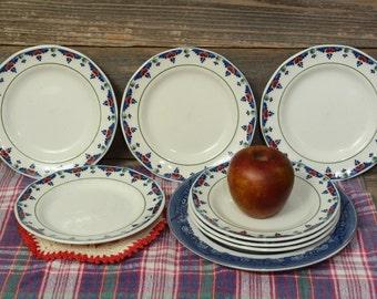 Vintage Adams 6 inch Dessert Plates