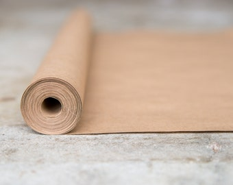 Brown Kraft Paper Roll | 20 ft| Gift Wrapping Paper| Paper Table Runners| Kraft Paper Placemats| Gift Wrapping Ideas