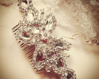 Vintage bridal comb
