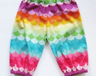 Rainbow Scales - Baby/Kids Harem Pants