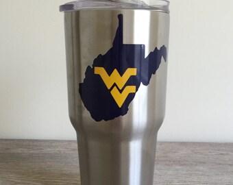 West Virginia Tumbler