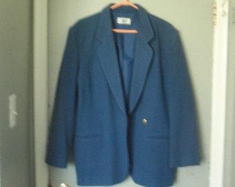 Vintage light blue jacket size 18