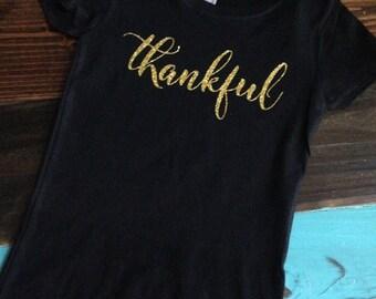 Thankful Thanksgiving Shirt  **ADULTS***