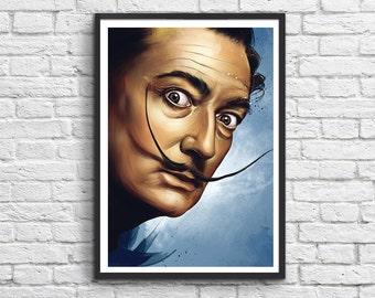 Art-Poster 50 x 70 cm - Salvador Dali