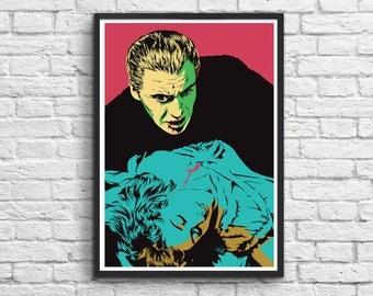 Art-Poster 50 x 70 cm - Dracula - Vee Ladwa