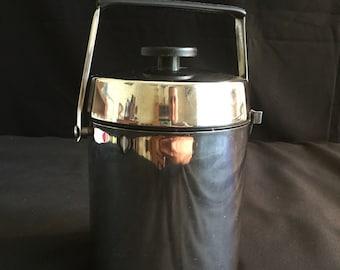 1960's Vintage Alfi Ice Bucket, Art Deco Mid- Century