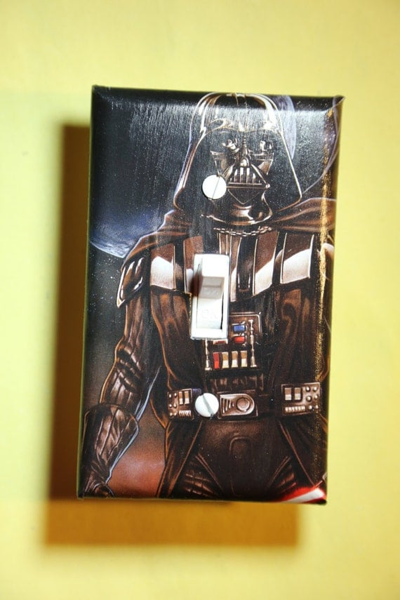 Star Wars Darth Vader Light Switch Plate Cover By