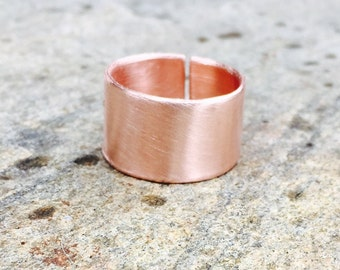 Copper ring, copper adjustable ring, simple copper rings, women's arthritis ring, arthritis jewelry, copper ring women, copper jewelry