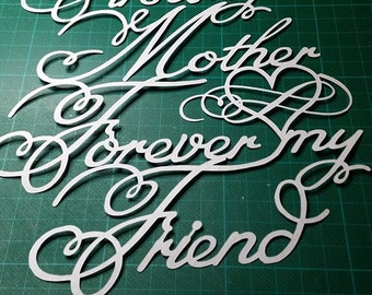 Mother Papercut finished product