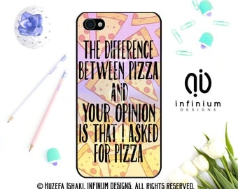 Pizza iPhone Case For iPhone 6S, iPhone SE, iPhone 5, iPod Touch 6, iPhone 6 PLus, iPhone 6, iPhone 5S & iPhone 5C Case