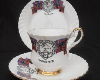 Scottish Clan/Tartan Trio.Macpherson
