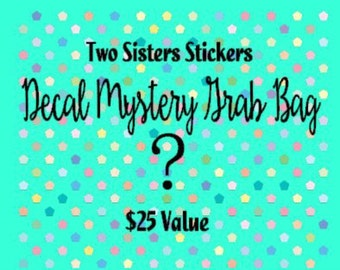 Decal Mystery Grab Bag-Monogram Decals