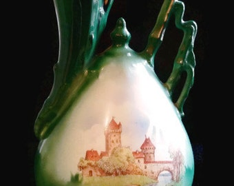 Castle water pitcher marked slovakia