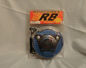 Rudeboyz Cassette Player Walkman With headphones New in package