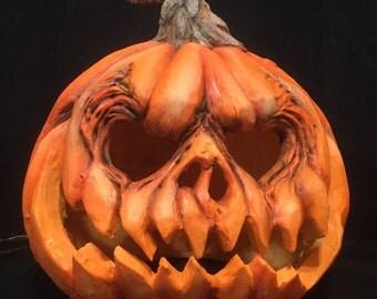 """Jack-o'-lantern """"Pumpkin King"""""""