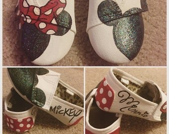 Mickey and Minnie Inspired Shoes