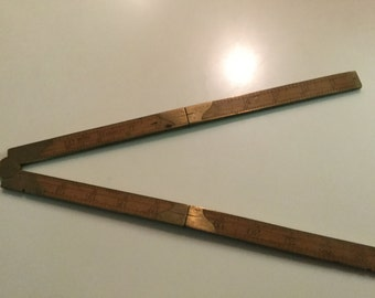 Stanley folding ruler. Very rare 781/2