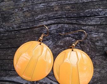 Yellow Vintage Earrings