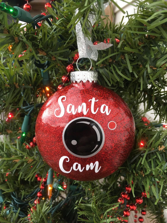 Firefighter Home Decorations Santa Cam Ornament Santa Spy Camera Christmas Ornament