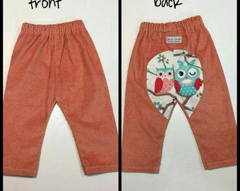 Corderoy harem style pants - size 1