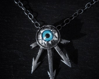 Chaos eyeball necklace