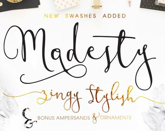 Hand Lettered Font Download Calligraphy Font By Mycandythemes
