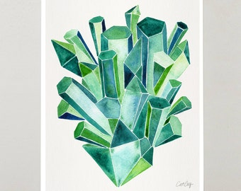 Emerald Facets