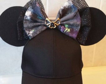 Villains Minnie Ears Hat / Show your villain side / Mickey's Not So Scary Halloween Party!