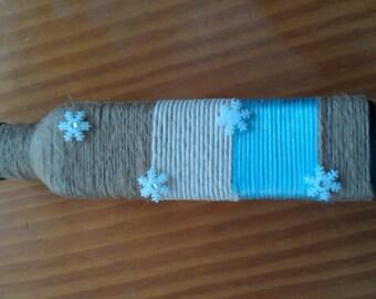 handicraft vase/candle holder