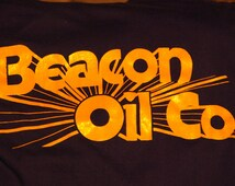 80's Beacon Oil Co t-shirt