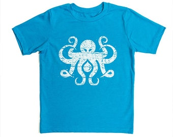 "Nauti-Kids ""Inktopus"" Nautical Octopus YOUTH T-Shirt"