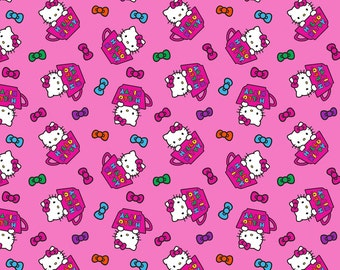HELLO KITTY adult fitted cloth diaper in extended sizes!!