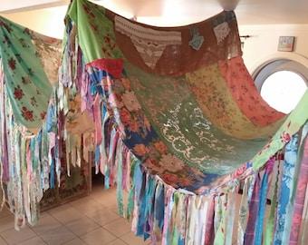 Bed Canopy Bohemian Bed Canopy Gypsy Bedroom Boho Bedroom