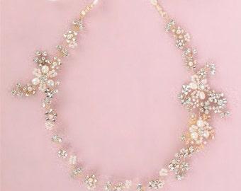 Bridal ribbon pearl