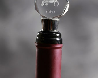 Falabella, Crystal Wine Stopper with Horse, Wine and Horse Lovers, High Quality, Exceptional Gift