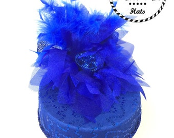 Royal  Blue Party Hat