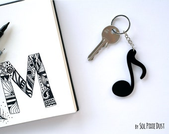 Key chain - Music Note