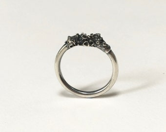 Little Lichen Stacker Ring