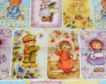 Vintage Wrapping Paper - Mary Hamilton Children - Unused Sheet
