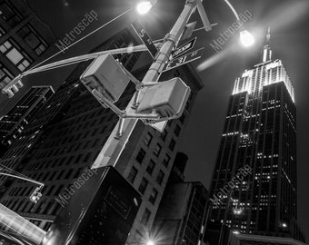 Black and White, New York City Photography, Empire State Building, Fine Art Photography, NYC Pictures, Midtown