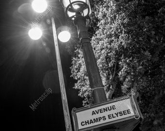 Black and White, Paris Photography, Paris France Photography , Fine Art Photography, Paris Pictures, Eiffel Tower, Champs-Elysee