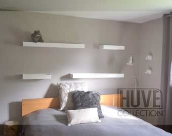 Set of 2 mediums and 2 larges shelves for cat by HUVE collection